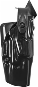 Safariland Model 6360-83 ALS Mid-Rise, Level III Retention Duty Holster STX TAC HIGH GLOSS BLACK