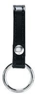Safariland High Gloss Black Baton Ring 1 Snap - Model 67s