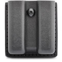 Safariland Model 79 Plain High Gloss Double Magazine Pouch Glock 20/21
