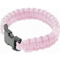 Paracord Bracelet - Light Pink