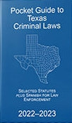 Pocket Guide to Texas Criminal Code