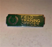 Green & Silver Field Training Officer Bar