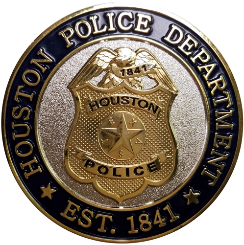 Challenge Coin - Houston Police Department