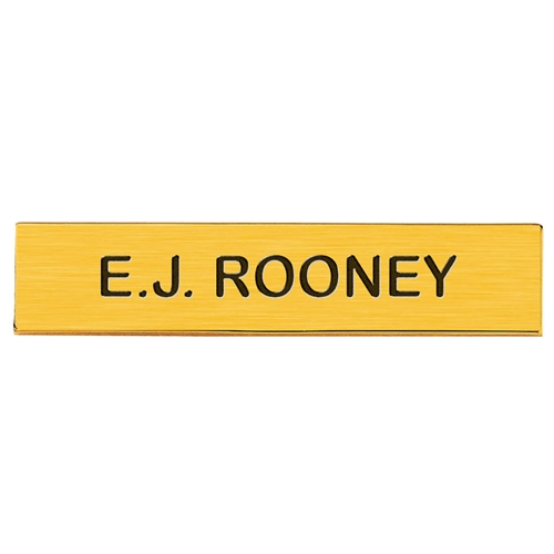 Blackinton J2 Name Plate, 3