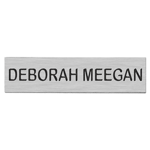 "Blackinton J3 Name Plate, 2-½"" x 5/8"""