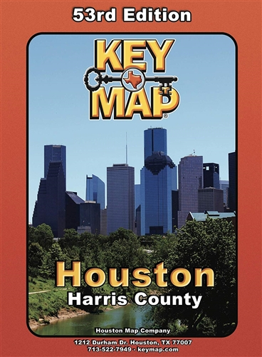 County Houston Key Map 53rd Edition