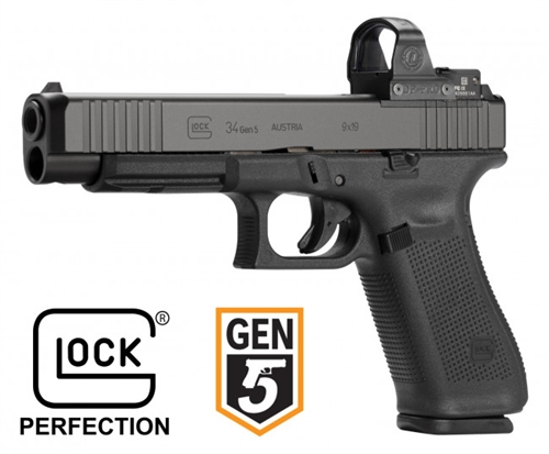 Glock 34 M O S Gen 5 Blue Label How about the glock 34 gen 5 mos? glock 34 m o s gen 5 blue label