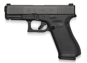 GLOCK 45 GEN 5 W/ AMGLO NIGHT SIGHT (BLUE LABEL)