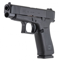 GLOCK 48 W/ AMGLO NIGHT SIGHT BLACK (BLUE LABEL)