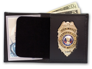 "Perfect Fit Bifold Wallet with Single ID (ID Size 2-3/4"" x 4-1/4"")"
