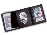 "Perfect Fit Trifold Wallet with Single ID Window (ID Size 3"" x 4-1/4"")"