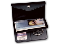 "Perfect Fit Women's Recessed Badge Wallet (ID Size 2-1/2"" x 3-1/2"")"