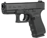 GLOCK 23 GEN 4 W/ GLOCK NIGHT SIGHT (BLUE LABEL)