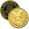 Saint Michael Prayer Coin for Police