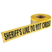 Barricade Tape - SHERIFF'S LINE DO NOT CROSS