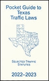 Pocket Guide to Texas Traffic Code