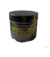 Fluorescent Invisible Detection Powder Black