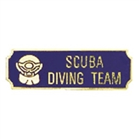 Blue & Gold Scuba Driving Team Bar