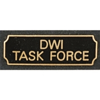 DWI Task Force Award Bar
