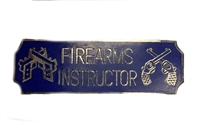 Firearms Instructor Award Bar