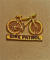 Gold Bike Patrol Pin