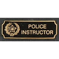 Police Instructor Award Bar