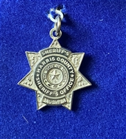 HCSO Sterling Silver Sheriff's Daughter Pendent