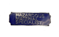 Hazardous Material Specialist Award Bar
