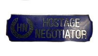 Hostage Negotiator Award Bar