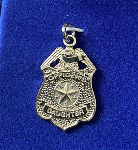 HPD Sterling Silver Officer's Daughter Pendent