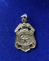 HPD Sterling Silver Officer's Mom Pendent