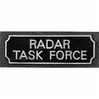 Radar Task Force Award Bar