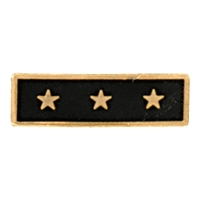 Slim Gold 3 Star Award Bar
