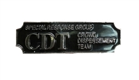 Special Responsive Group (CDT) Crowd Dispersement Team Award Bar