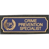 Vintage Crime Prevention Specialist (CPS)