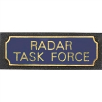 Vintage Radar Task Force Award Bar