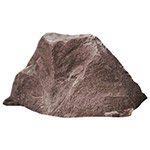 "Dekorra 105-RB - Riverbed Rock Enclosure with Flat Face for Plaque Models 650, 651, 652 (24""L x 12""W x 12.5""H)"
