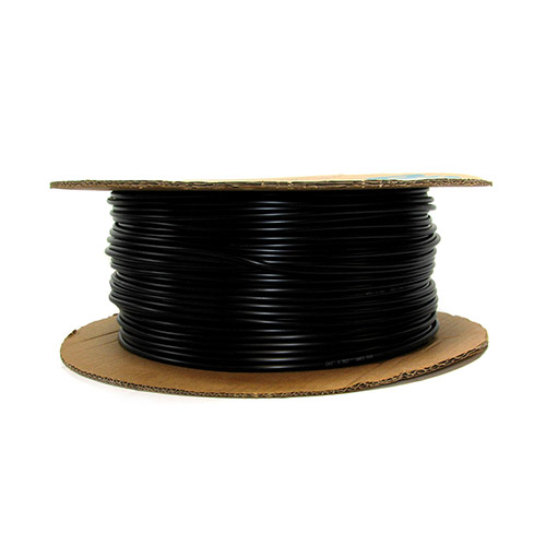 12-050 - 1/4 inch Black Vinyl Distribution Tubing (1000 ft roll)