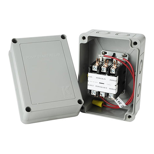 K-Rain 1522 - 3HP at 110/220V with 24V Coil Pump Start Relay