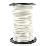 16 Gauge Single Strand Irrigation Wire White