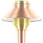 FX 223600 - Copper SP20 SaguaroPetite Pathlight with Stake - 8 inch Riser and 20W Xenon G4 Lamp