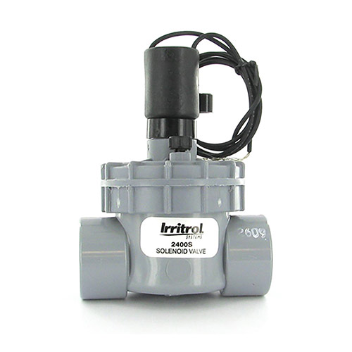 Irritrol 2400S - 2400 Series Electric Globe Valve (1 inch Slip Inlet/Outlet)