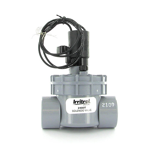 Irritrol 2400T - 2400 Series Electric Globe Valve (1 inch Threaded Inlet/Outlet)