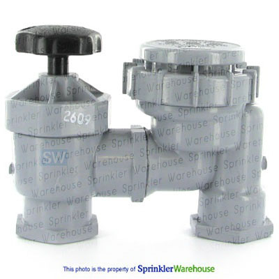 How to plumb and install brass irrigation anti siphon valves youtube.