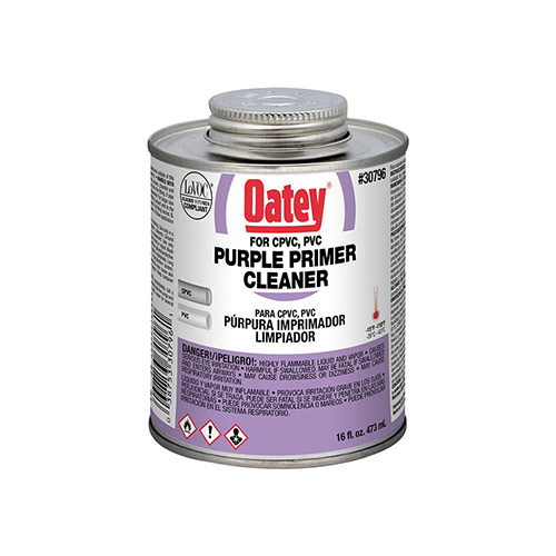 Oatey 30796 Purple All-Purpose Primer/Cleaner (16 oz.)