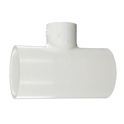 Spears 401-166 - 1-1/4 inch x 1-1/4 inch slip x 1/2 inch slip PVC Reducing Tee