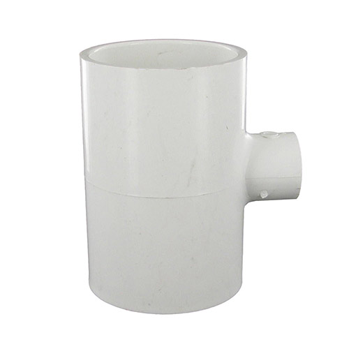 Spears 401-247 - 2 inch slip x 2 inch slip x 1/2 inch slip PVC Reducing Tee