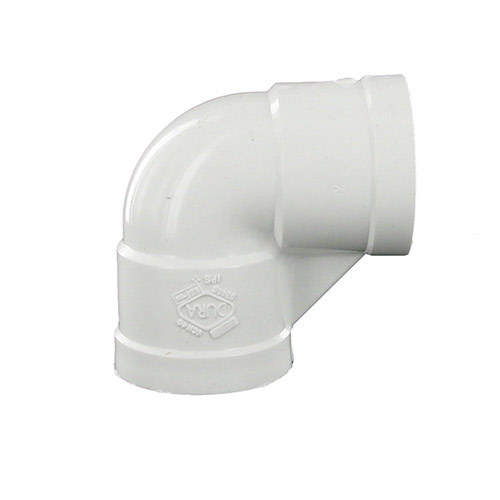 Spears 408-010 - 1inch fpt x 1inch fpt 90 Degree Threaded PVC Elbow