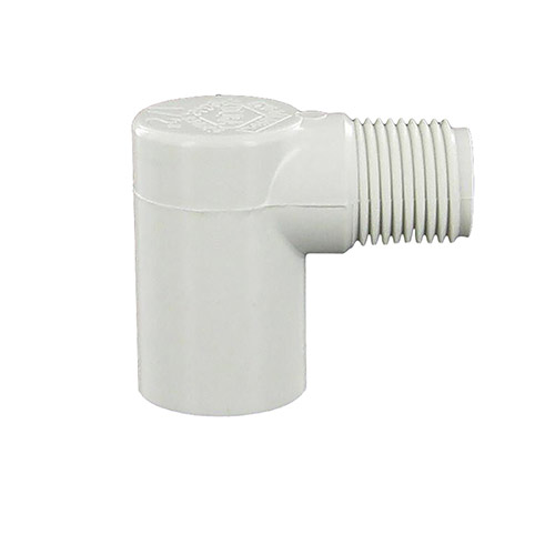 Spears 410-005 - 1/2 inch slip x 1/2 inch mpt PVC Street Elbow