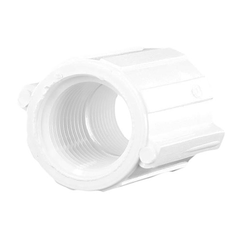 Spears 430-005 - 1/2 inch fpt x 1/2 inch fpt PVC Threaded Coupling